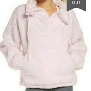 NWT Free People  faux sherling pullover